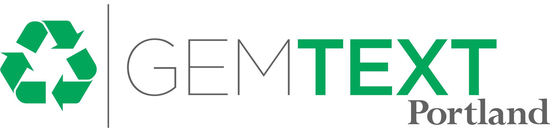 Gemtext logo