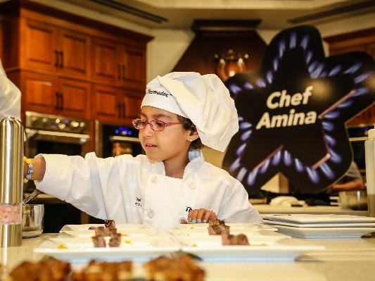 Amina - I wish to be a chef!